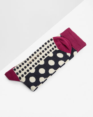 Spotted socks $15 thestylecure.com