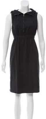 Nili Lotan Sleeveless Hooded Dress