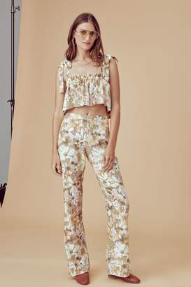 For Love & Lemons Renata High-Waist Pants