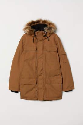 H&M Warm-lined Parka - Beige