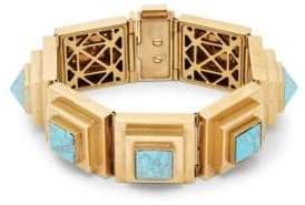 Valentino Turquoise Geometric Bracelet