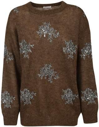 Brunello Cucinelli Embroidered Sweater
