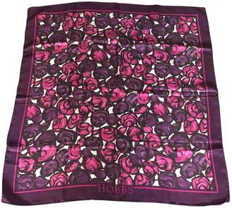 Hobbs Purple Silk Silk handkerchief