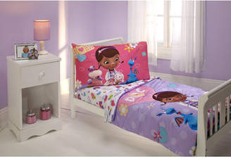 Disney The Doc is In 4 Piece Doc McStuffins Toddler Bedding Set