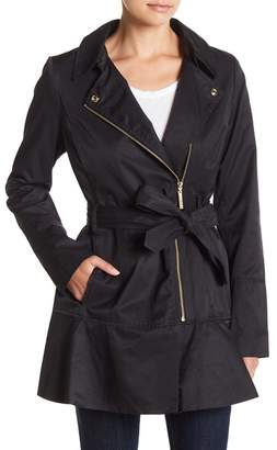 Kensie Belted Trench Coat