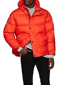 IENKI IENKI Men's Tech-Cotton Down-Quilted Puffer Jacket - Red