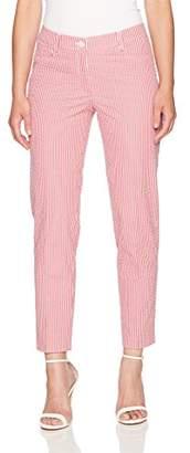 Anne Klein Women's Seersucker Striped Pant