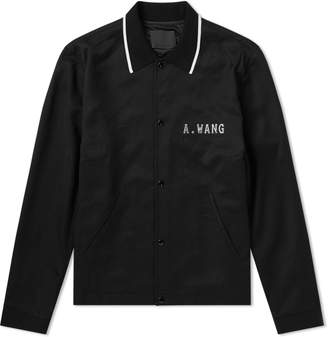 Alexander Wang Zip Up Coach Jacket