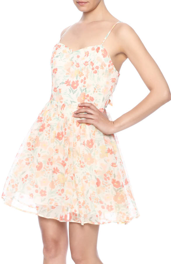 BB Dakota Correll Floral Dress