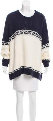 The Great Oversize Intarsia Sweater