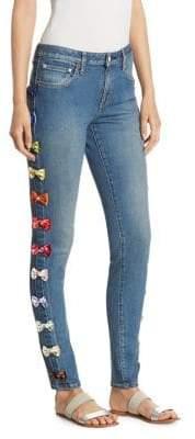 Tu es mon TRESOR Velvet Rainbow Jeans