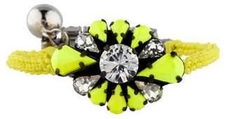 Shourouk Baraka Zoe Yellow Bracelet
