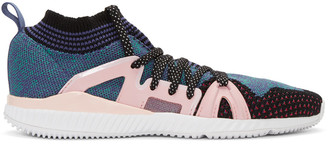 adidas by Stella McCartney Pink & Purple CrazyTrain Bounce Sneakers $170 thestylecure.com
