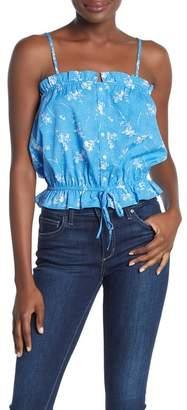 Abound Printed Blouson Cami Top