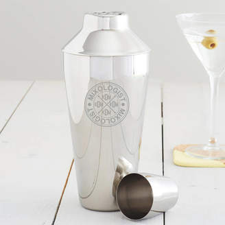 Becky Broome Personalised Mixologist Monogram Cocktail Shaker