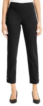 JM Collection Tummy-Control Ankle Pants, Created for Macy's
