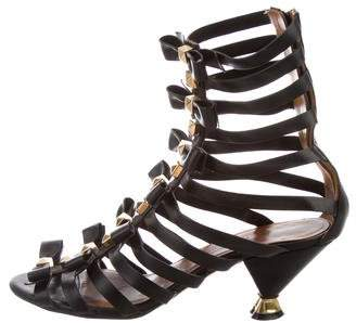 Marc Jacobs Bow-Accented Cage Sandals