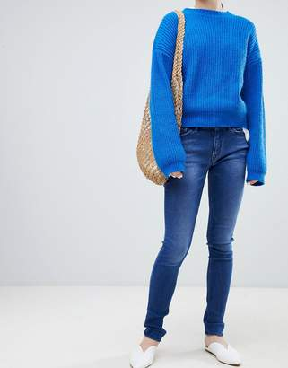 Kings Of Indigo Juno organic cotton mid rise skinny jean