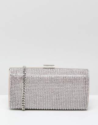 Miss KG Structured Stone Clutch