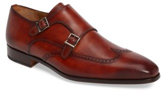 Men's Magnanni Casta Double Monk Strap Shoe $395 thestylecure.com
