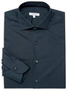 Boglioli Regular Fit Cotton Dress Shirt
