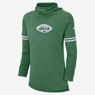 Nike NFL Jets) Women's Long Sleeve Top