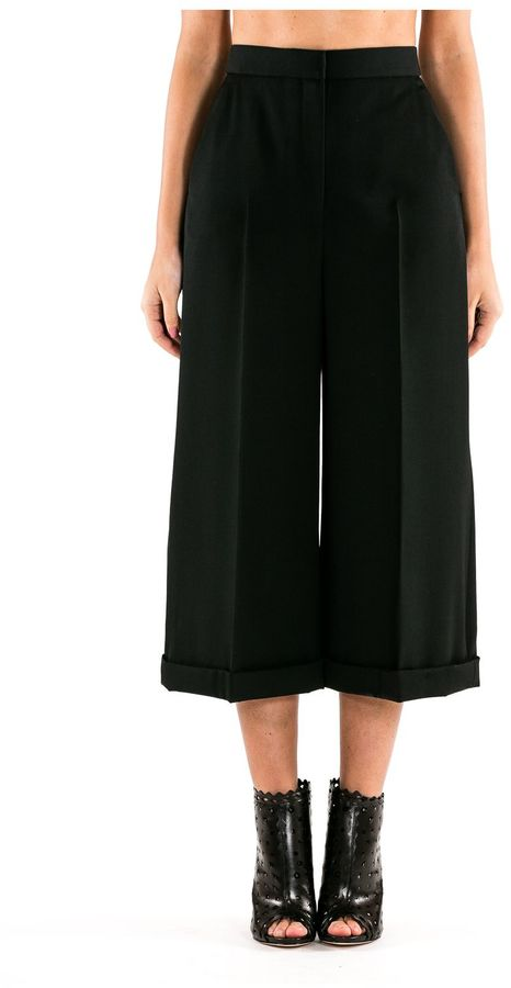 Alexander McQueenAlexander McQueen Trousers High Waist Panties