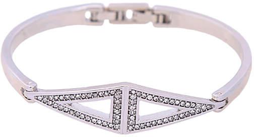 Crystal Triangle Charm Bracelet