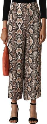 Whistles Snake Print Trousers