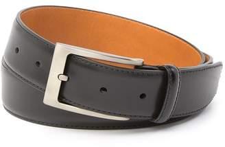 Magnanni Square Buckle Leather Belt