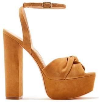 Rachel Zoe Claudette Suede Platform Sandals