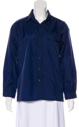 Obermeyer Tonal Button-Up Top