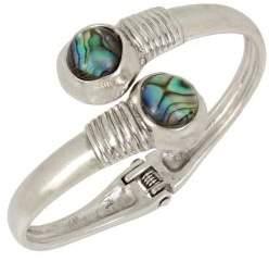 Robert Lee Morris Collection Abalone Bypass Bracelet