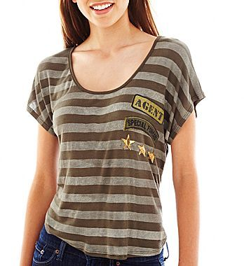 JCPenney Military Graphic Tee