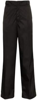 Prada Nylon Logo Badge Trousers