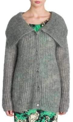 Miu Miu Statement Collar Cardigan