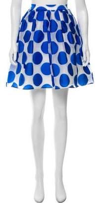 Alice + Olivia Polka Dot Knee-Length Skirt