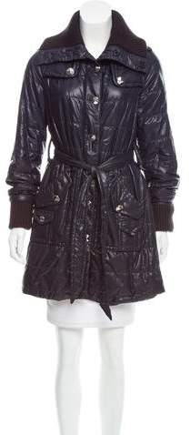 Marc by Marc Jacobs Lightweight Belted Down Coat