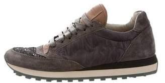 Brunello Cucinelli Glitter Low-Top Sneakers