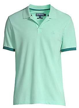 Vilebrequin Men's Cotton Polo Shirt