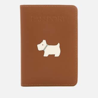 Radley Women's Heritage Dog Passport Cover - Indus Tan