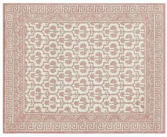Pottery Barn Braylin Custom Tufted Rug - Blush