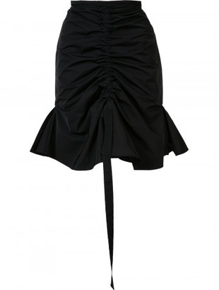 peplum skirt