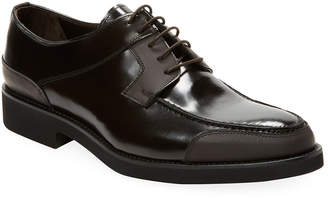 Walter Wall + Wall + Water Leather Derby Shoe