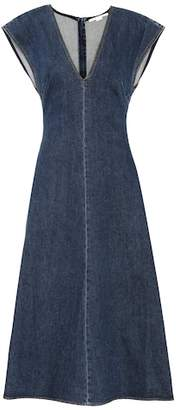 Stella McCartney Ella denim midi dress