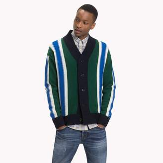 Tommy Hilfiger Oversized Stripe Cardigan