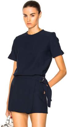 Carven Belted Top