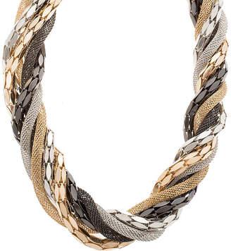 Steve Madden Wrapped Chain Bib Necklace - Women's