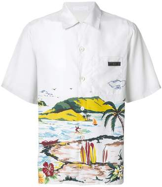 Prada Hawaiana short sleeve shirt