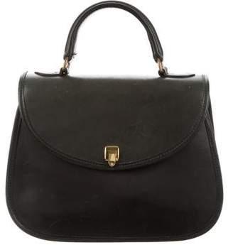 Ghurka Vintage Leather Saddle Bag